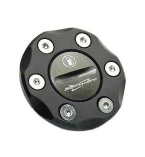 Secraft Tappo rifornimento singolo V2 NERO