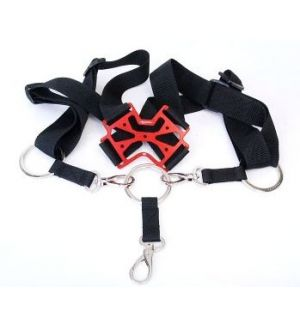 Secraft Neck strap single V2 RED