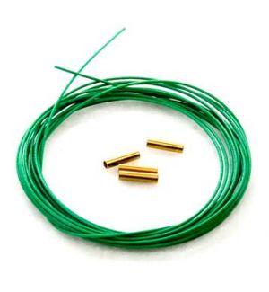 Secraft Cavo acciaio trecciato per sistema Pull-Pull 0,8 mm - 3 metri