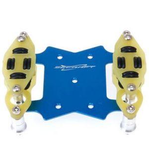 Secraft Supporto ammortizzato accensioni elettroniche V2 BLU