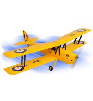Phoenix Model TIGER MOTH .46~.55 pronto al volo Aeromodello riproduzione