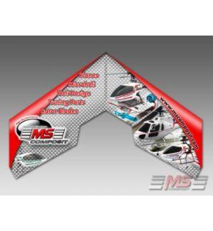 MS Composit Swift II - MS COMPOSIT II EPP + Motore, servi, regolatore