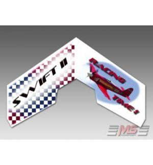 MS Composit Swift II - Racing Time EPP + Motore, servi, regolatore