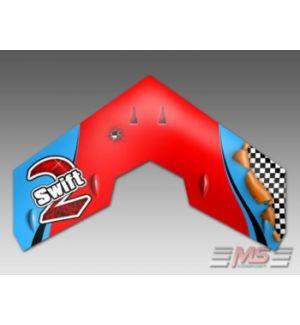 MS Composit Swift II - Red Dart EPP + Motore, servi, regolatore