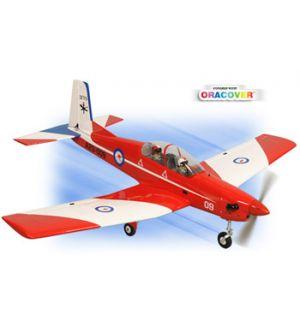Phoenix Model Pilatus PC 9 .46~.55 Aeromodello riproduzione