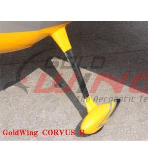 GoldWing Carrello in carbonio classe 20-40cc tipo Su, Yak, Sbach, Corvus
