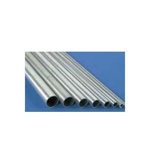 aXes Tubo alluminio ø 10 x 9,1 x 1000 mm