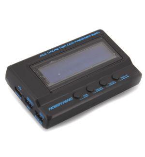 HobbyWing Scheda di programmazione LCD Platinum V2 e Tester Batterie