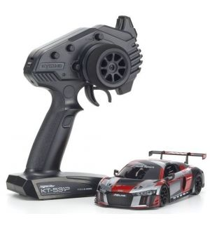 Kyosho Mini-Z MR03 RWD Audi R8 LMS 2015 Grey-Red