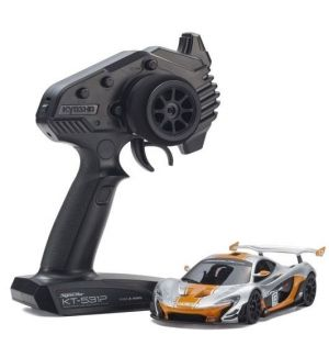 Kyosho Mini-Z MR03 RWD McLaren P1 GTR Silver-Orange