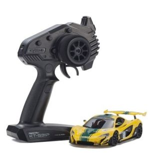 Kyosho Mini-Z MR03 RWD McLaren P1 GTR Yellow-Green