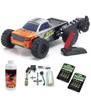 Kyosho Nitro Tracker 1:10 RC Nitro 4WD Readyset c/KE15SPAutomodello a scoppio SUPER COMBO