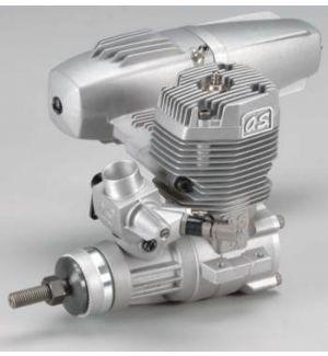 OS engines 55 AX c/silenziat. Motore a scoppio 2T glowper aerei