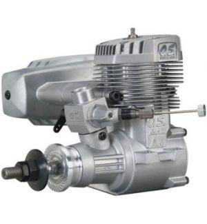 OS engines 120 AX 20 CC c/silenziat. Motore a scoppio 2T glow per aerei