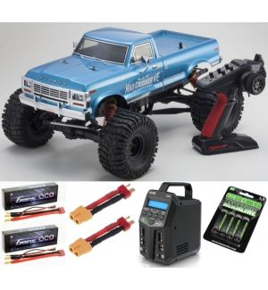 Kyosho Mad Crusher VE 1:8 4WD Readyset electric car SUPER COMBO