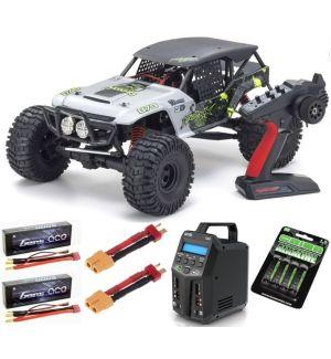 Kyosho FO-XX VE 2.0 1:8 4WD Readyset EP Automodello elettrico SUPER COMBO