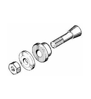 MP JET MP JET Mozzo eliche per assi 3,2 mm, M5