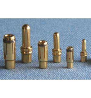 MP JET 2 coppie spinotti dorati 1,8 mm (<20A)