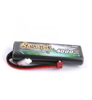 Gens ACE Batteria Lipo 2S 4000mAh 50C bashing series HardCase DEANS