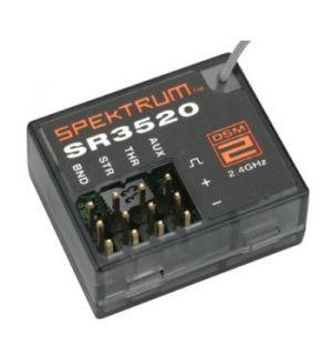 Spektrum SR3520 DSM2 3 canali Micro Race - auto Ricevente