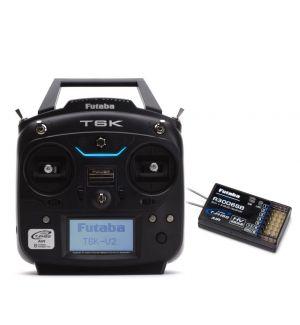 Futaba T6K V2 2.4Ghz T-FHSS Mode2 + rx R3006SB Radiocomando