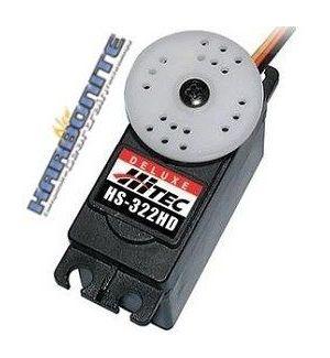 Hitec HS322 HD (4,8-6,0V) - 3,7 (6,0V)-0,15 (6,0V) Servocomando standard