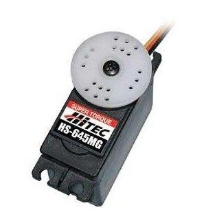 Hitec HS645MG - 7,7 (4,8V)-0,23 (4,8V) Servocomando standard