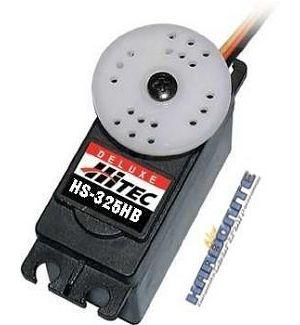 Hitec HS325 HB(4,8-6,0V) - 3,5 (6,0V)-0,15 (6,0V) Servocomando standard