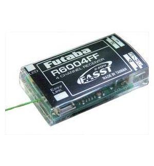 Futaba R6004FF 2.4 Ghz FASST 4CH Ricevente
