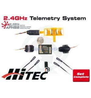 Hitec HTS-SS COMBO PACK COMPLETO TELEMETRIA