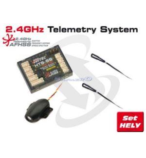Hitec HTS-SS BASIC PACK TELEMETRIA HELY