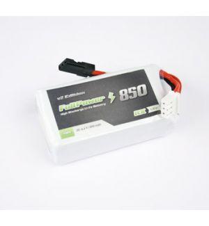 FullPower Batteria RX LiFe 2S 850 mAh 35C V2 - JR