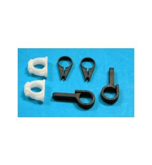 TWISTER 3D TAIL CLAMPS AND SERVO MOUNT SET