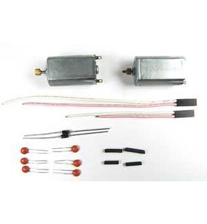 ElyQ Mini Lama Coppia motori filtri e cavi