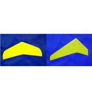 Sab Impennaggi in fibra gialli per T Rex 450
