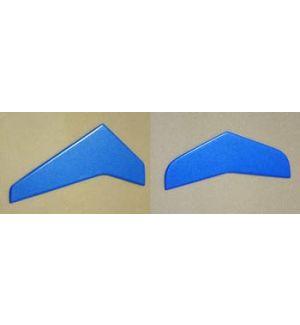 Sab Impennaggi in fibra blu per T Rex 450