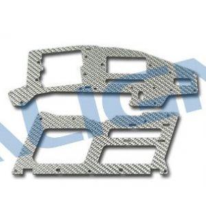 Align H25085 T Rex 250 Fiancata Fibra silver 1,2mm