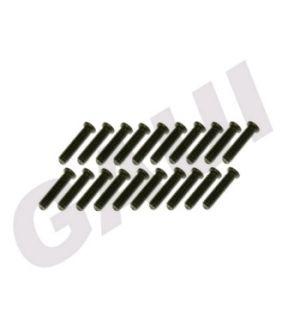 Gaui 204570 - Gaui 425 Plastic - Grani (M2x8) 20pz