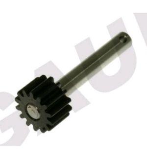 Gaui 204577 - Gaui 425 Plastic - Pulley Shaft with Steel Gear(14T)