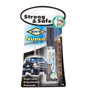 Bostik Super Strong&Safe Adesivo Istantaneo Universale