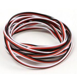 Robbe Cavo servi piatto 22awg-0,35mmq (nero/rosso/bianco), 5 mt