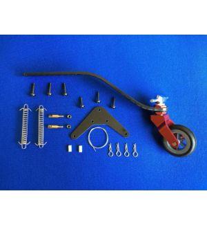 KUZA by Goldwing Carrello di coda V3 alluminio/carbonio per modelli 120-220CC