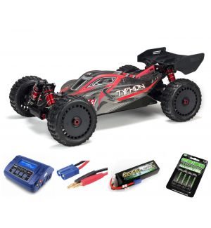 Arrma TYPHON 6S BLX Brushless Buggy 4WD RTR 1/8 SUPER COMBO 4S