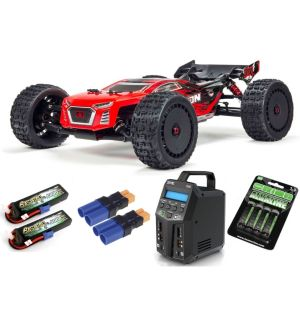 Arrma TALION 6S BLX Brushless Truggy 4WD RTR 1/8, Red Black SPEKTRUM SUPER COMBO 6S