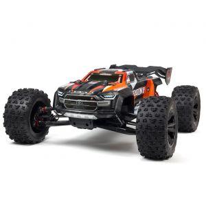 Arrma Kraton 1/5 4X4 8S BLX Brushless Speed Monster Truck RTR, Arancio