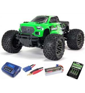 Arrma Granite V3 4X4 3S BLX Monster Truck RTR - Verde SUPER COMBO FP