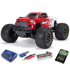 Arrma Granite V3 4X4 3S BLX Monster Truck RTR - Rossa SUPER COMBO FP