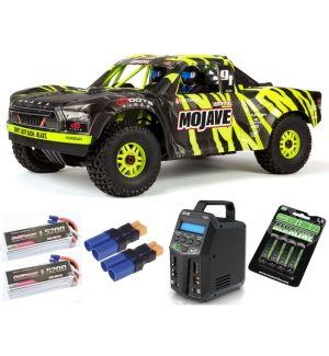 Arrma MOJAVE™ 6S V2 BLX 1/7 Brushless 4WD Desert Truck RTR Green/Black SUPER COMBO 6S FP