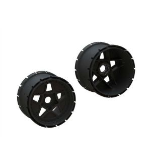Arrma Cerchi MT 4.9in 24mm Hex (1 coppia) - ARA510123