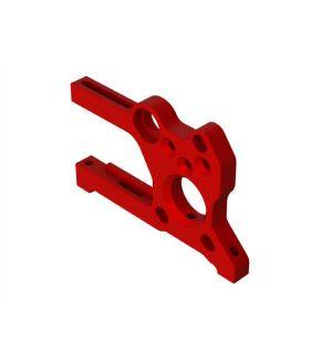 Arrma Supporto motore alluminio rosso - ARA320482